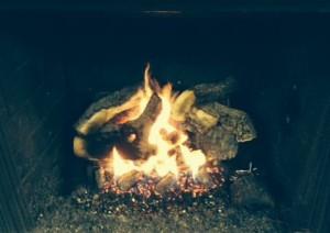 Radiant Heat Vented Log Set