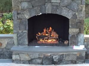 Outdoor Vented Gas Log Set
